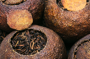 Puer Ripe in Mandarin fruit (2009)