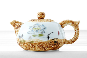 Lotus Tea Set For Traditional Chinese Tea Ceremony